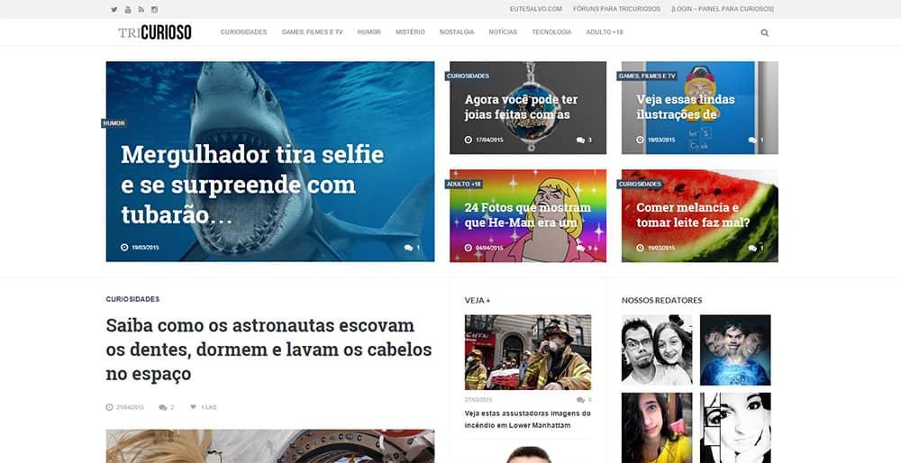 As melhores curiosidades estão no TriCurioso.com http://www.cantinhojutavares.com