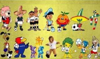 Mascotes da Copa do Mundo de futebol tricurioso