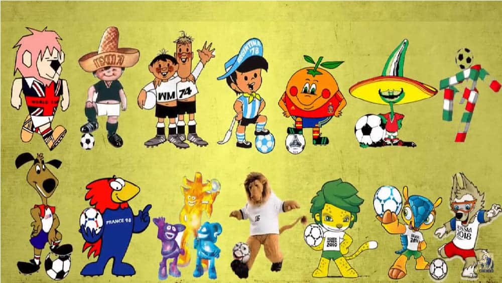 Mascotes da Copa do Mundo de futebol - TriCurioso e307d9bb4ff37