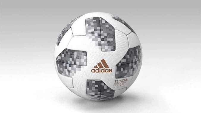 bola official-ball-fifa-worldcup-2018-telstar-pbr-3d-model tricurioso