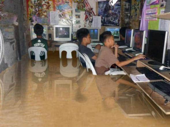 lan house cs counter strike enchente