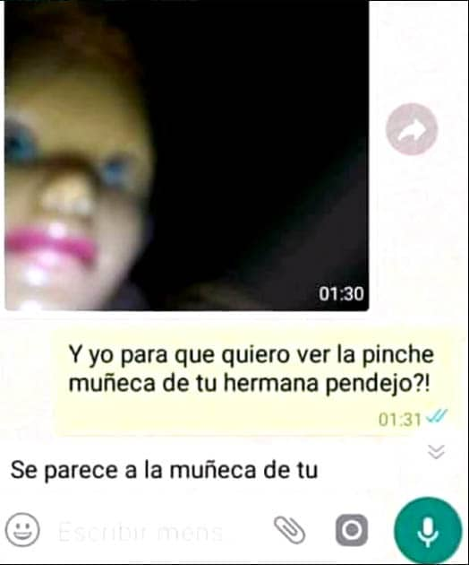 Momo creepypasta tricurioso whatsapp boneca