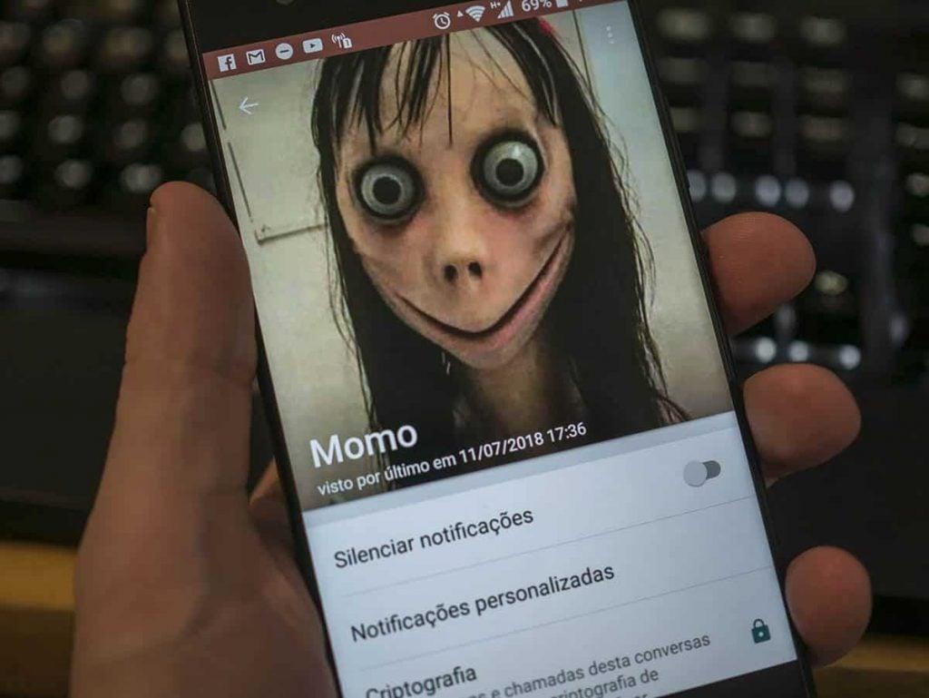Momo creepypasta tricurioso whatsapp02 celular smartphone