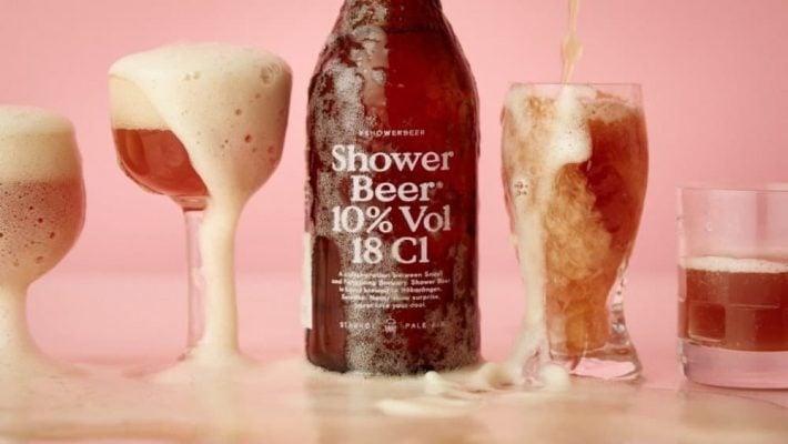cerveja banho shower beer tricurioso