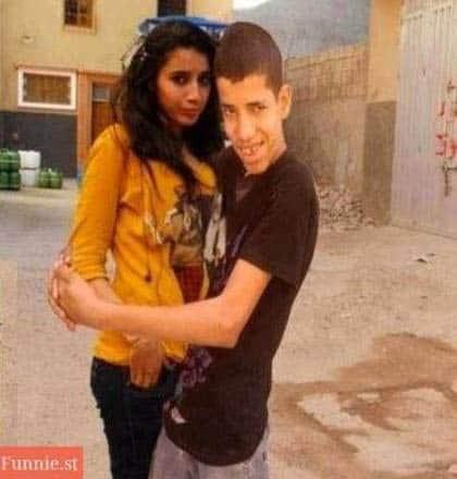 mestres do photoshop montagem humor namorada abraço tricurioso
