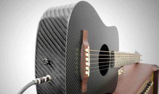 violão fibra de carbono klos guitars CableJack_Amp tricurioso