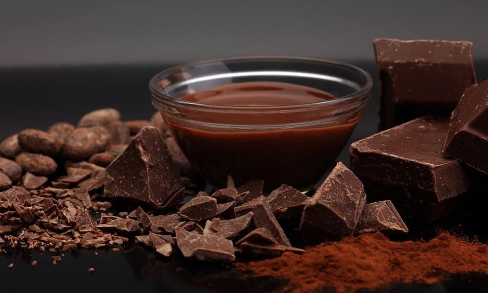Chocolate puro e Chocolate fracionado