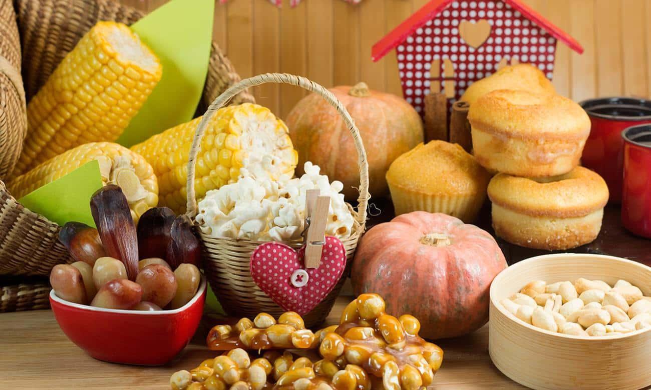 Conheça a história das comidas juninas no Brasil