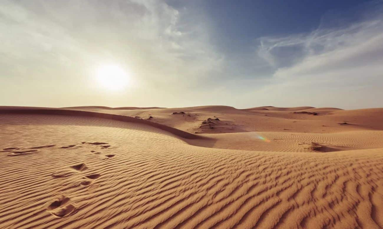 Quais são os maiores desertos do mundo?