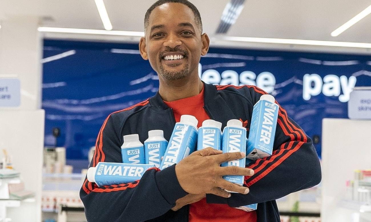Água sustentável criada por Jaden e Will Smith chega ao Brasil