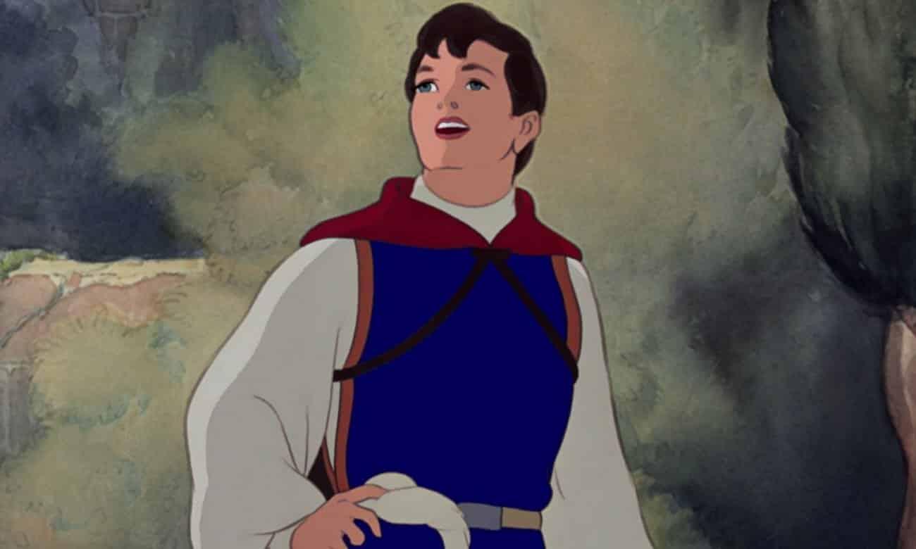 Qual a idade dos príncipes da Disney?