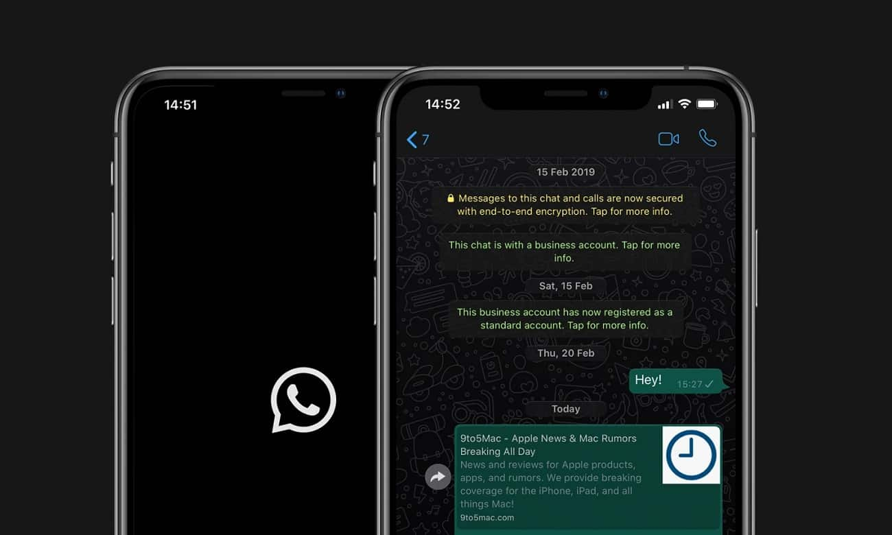 WhatsApp disponibiliza modo escuro para Android e iOS