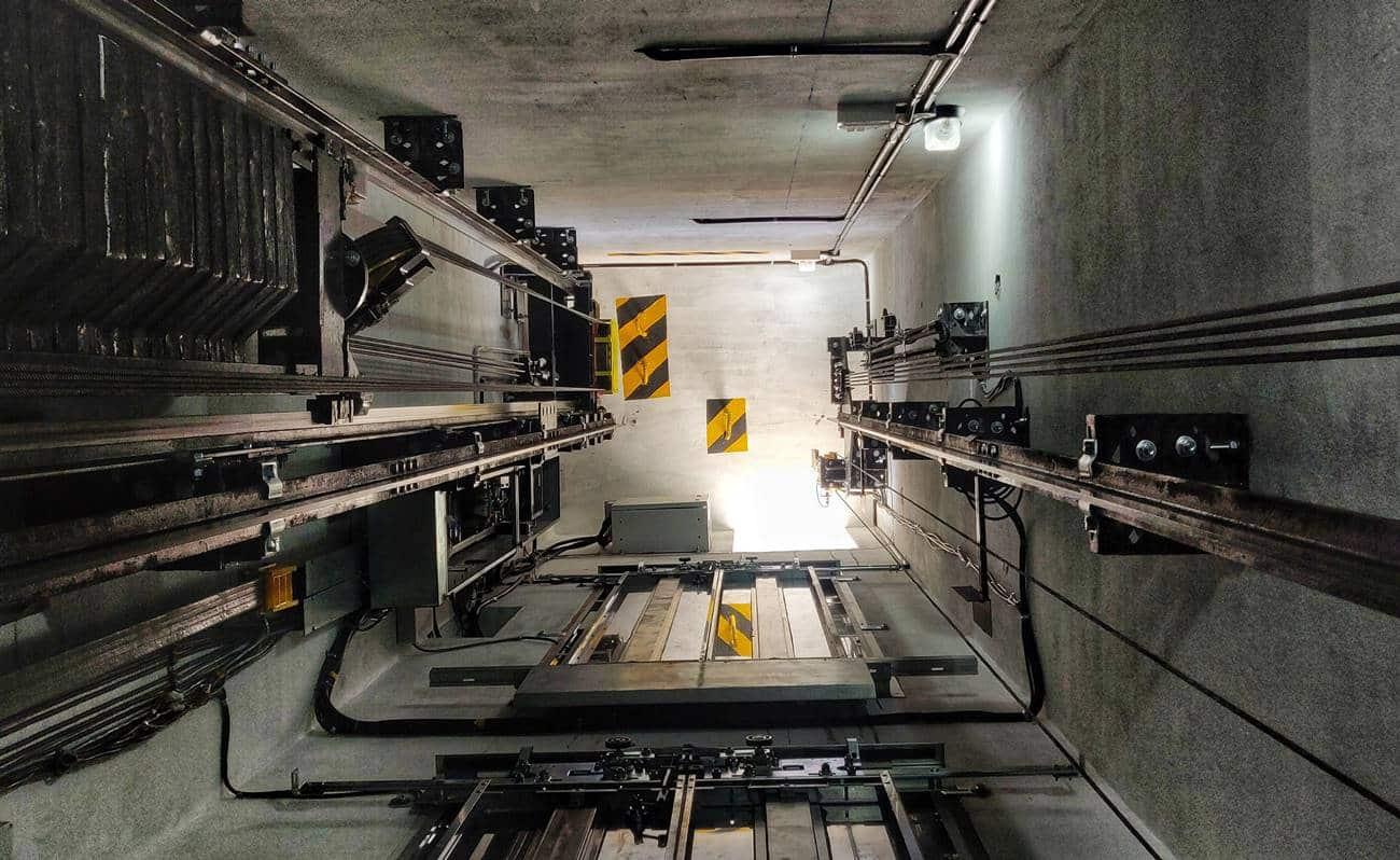 Poço de elevador