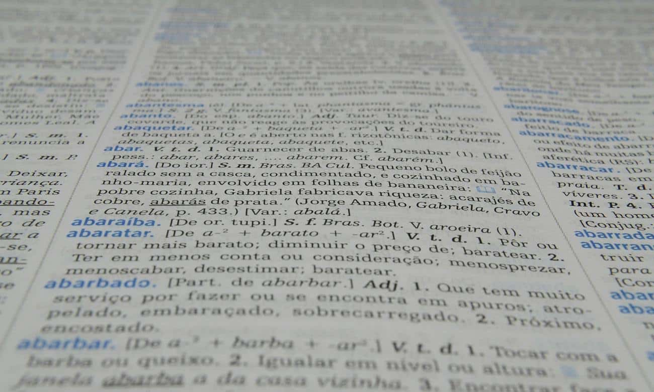 Conheça palavras em português que possuem dupla grafia