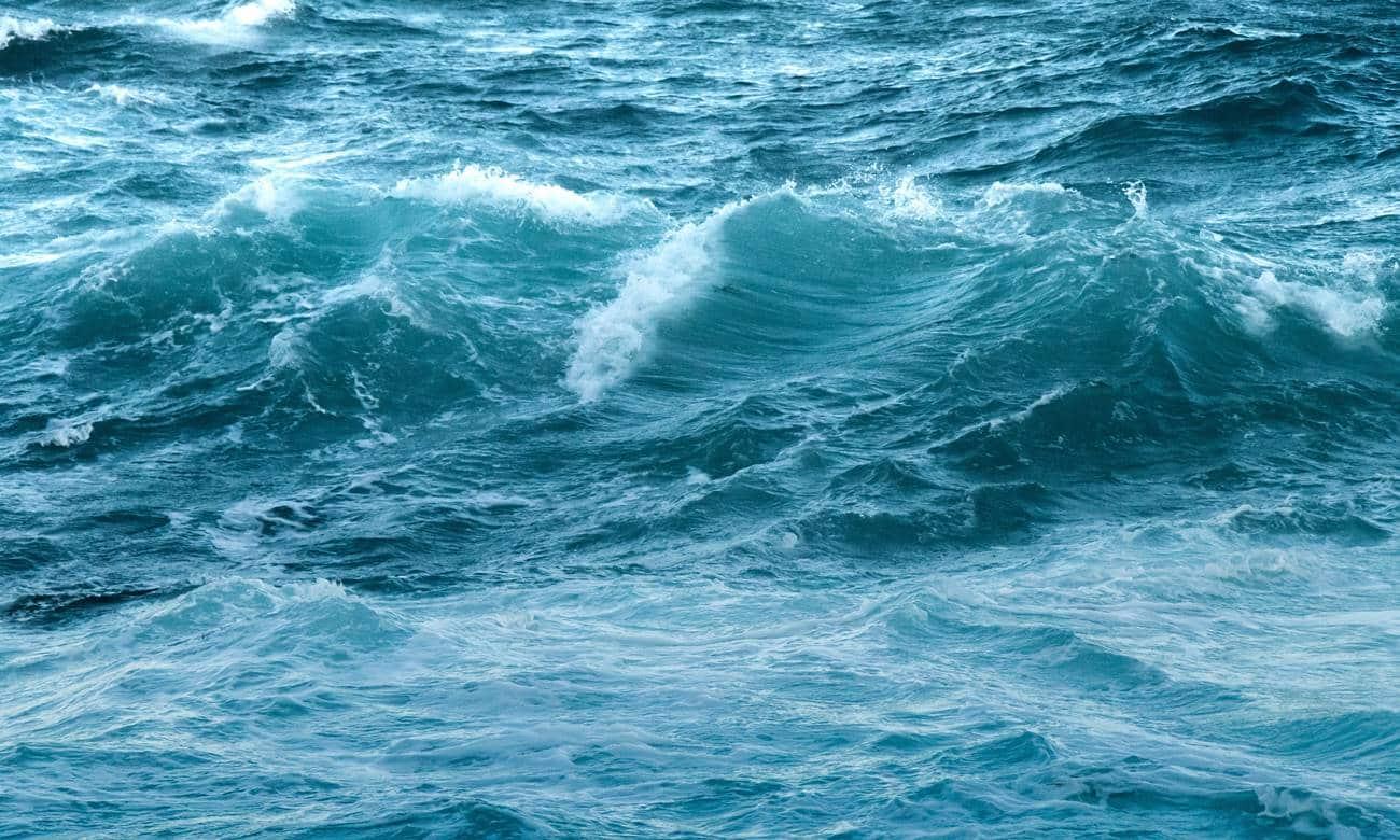 Águas do oceano