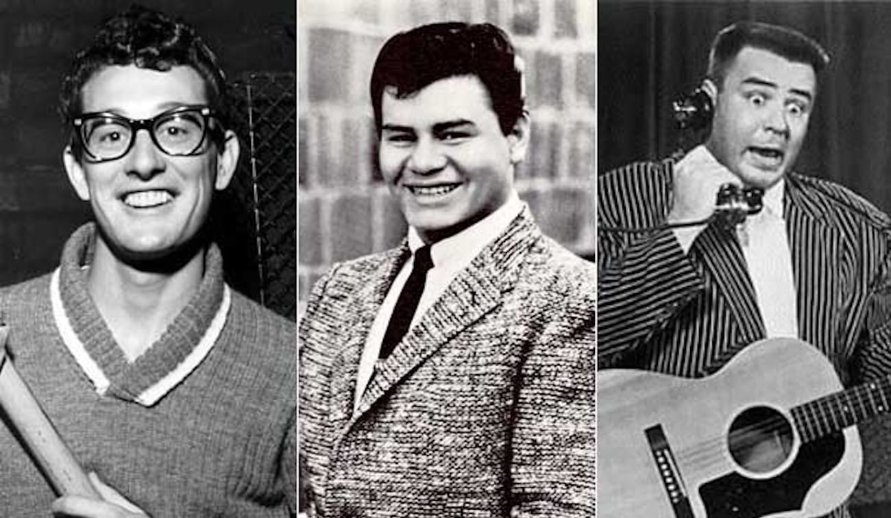Ritchie Valens   Buddy Holly   The Big Popper