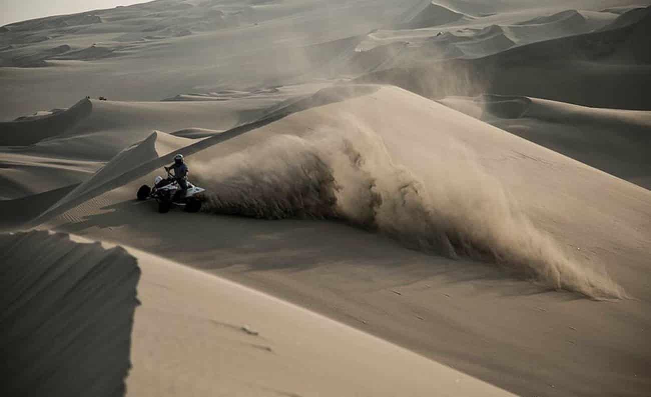 Poeira no deserto