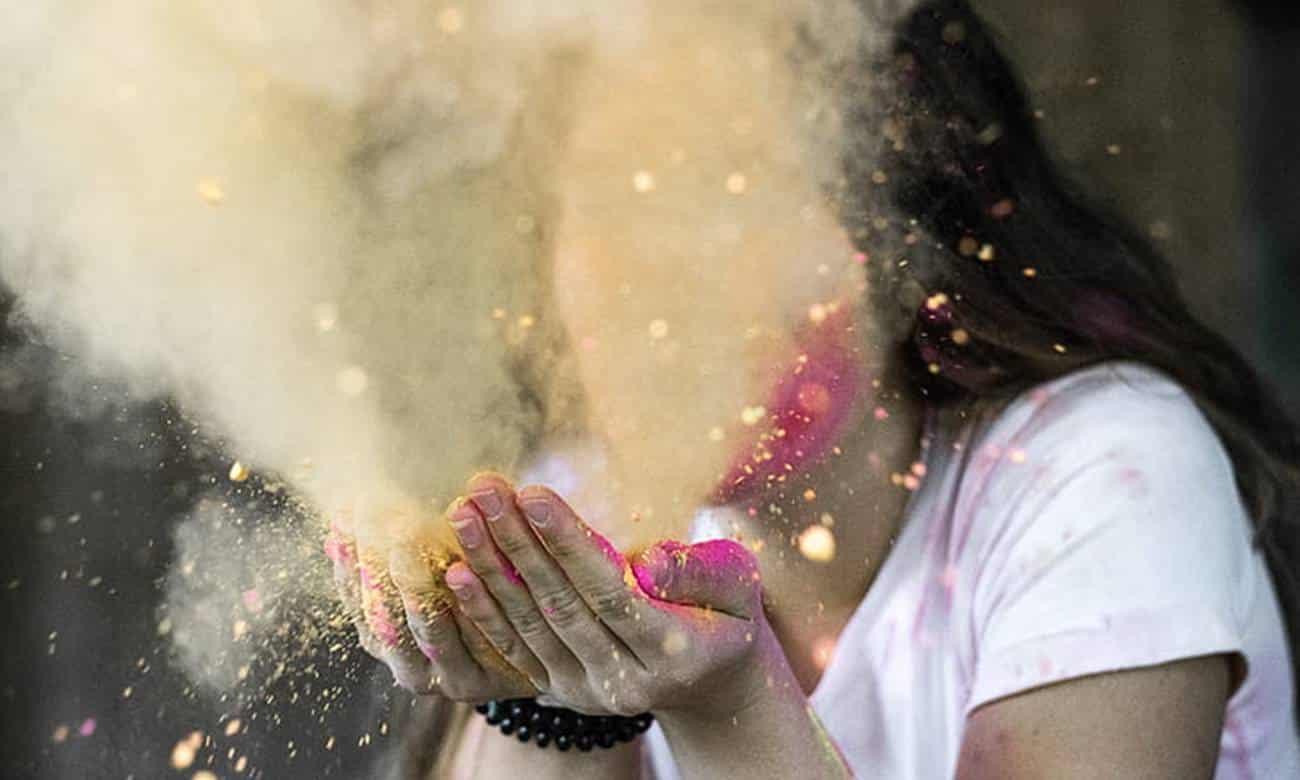 Quando inalamos poeira